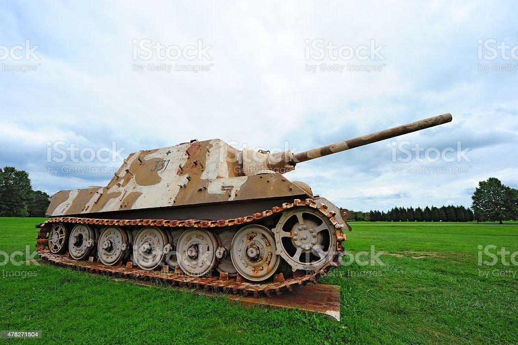 German World War II Panther Tank stock photo