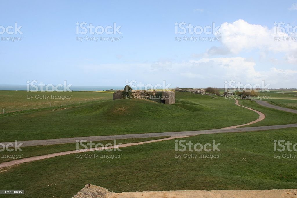 German WWII Bunkers royalty-free stock photo