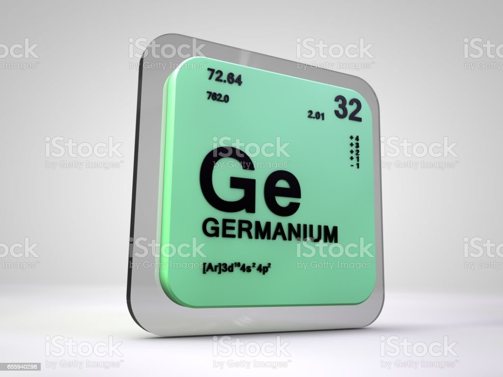 Germanium ge chemical element periodic table 3d render stock germanium ge chemical element periodic table 3d render royalty free germanium ge chemical biocorpaavc Gallery