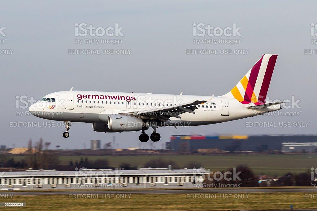 Germanwings stock photo