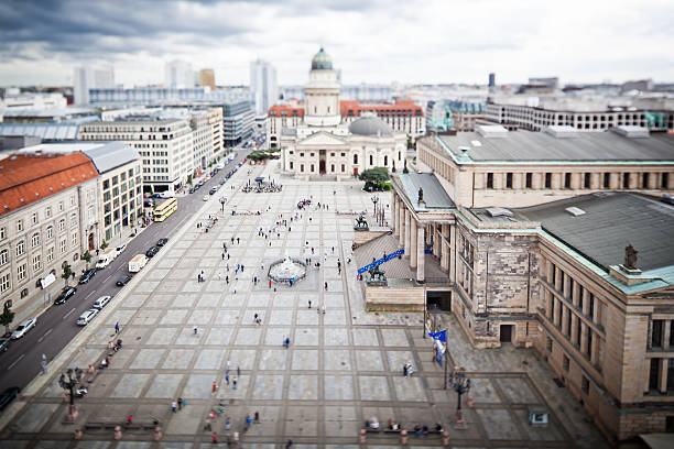 Germany, Berlin, Gendarmenmarkt  gendarmenmarkt stock pictures, royalty-free photos & images