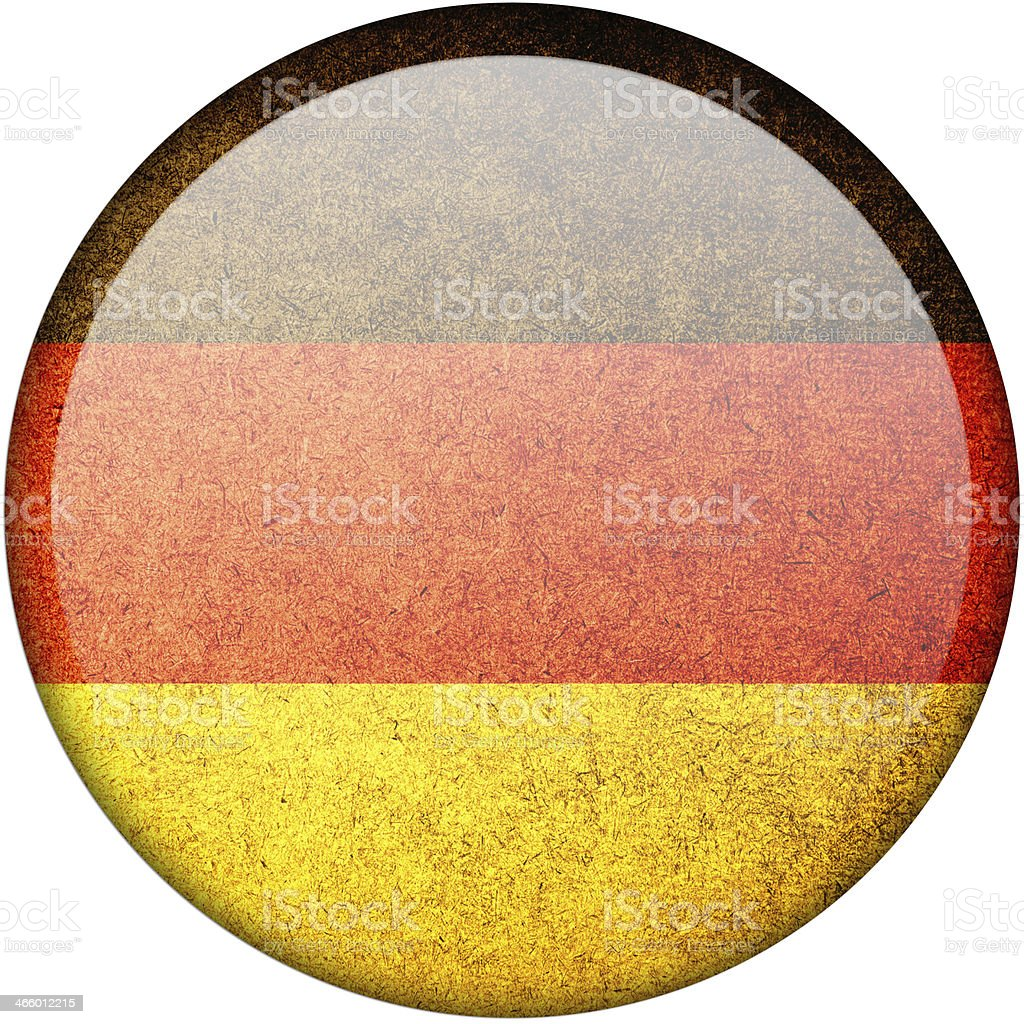 Germany button flag royalty-free stock photo