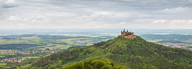 Deutschland Burg Hohenzollern Panorma Blick – Foto