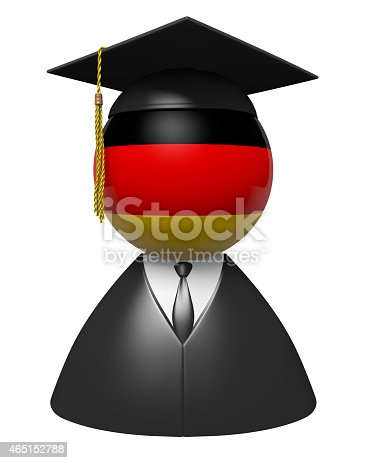 istock Germany college graduate concept for schools and academic education 465152788