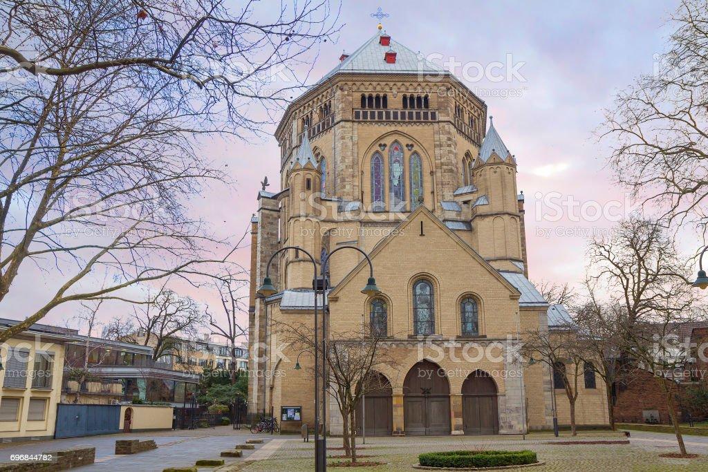 Germany. Cologne. Apostolic Church stock photo