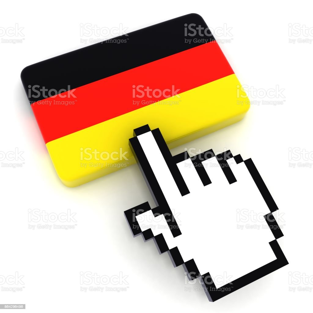 Germany flag button royalty-free stock photo