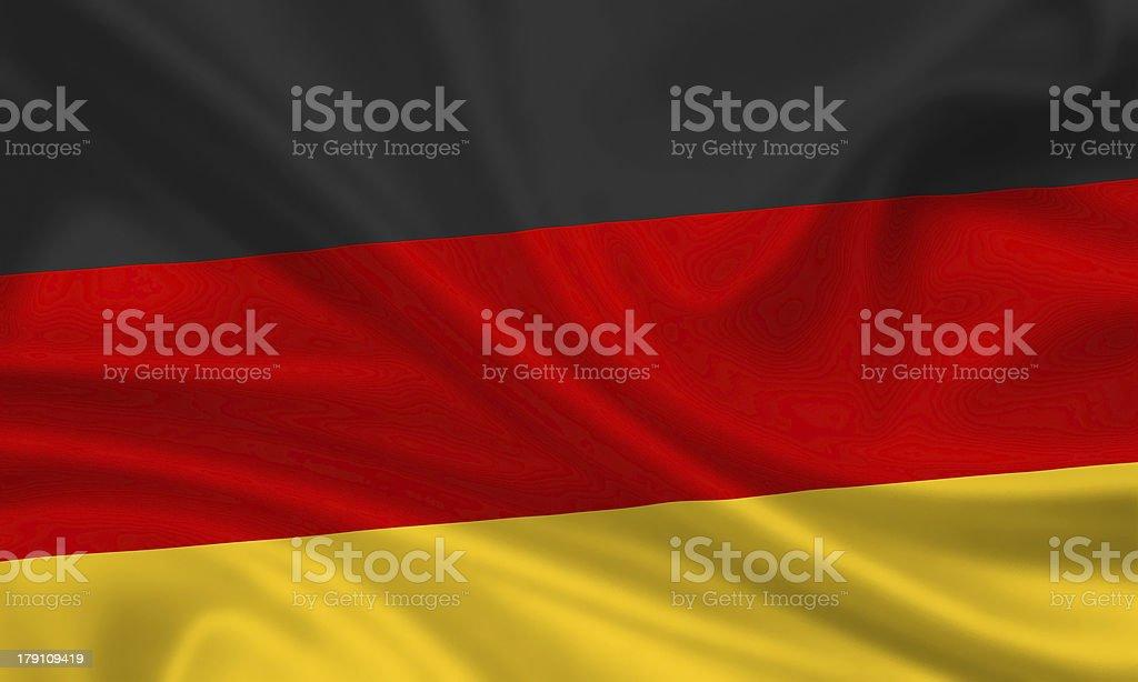 Germany Flag german royalty-free stock photo