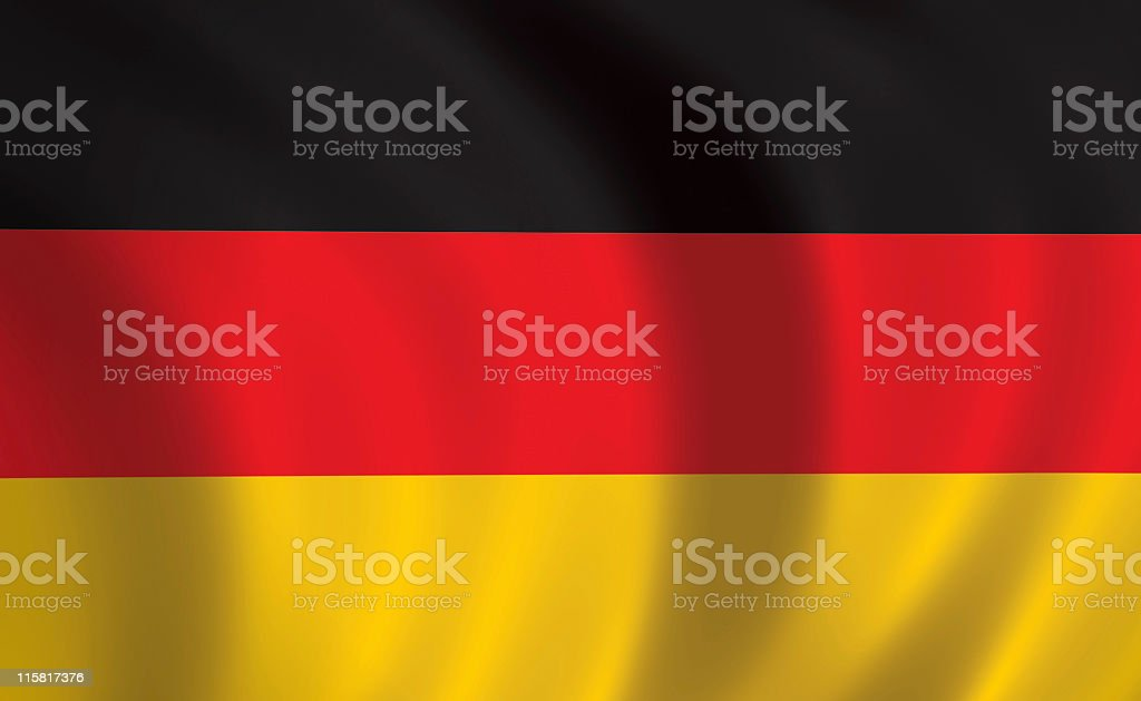 Germany flag royalty-free stock photo