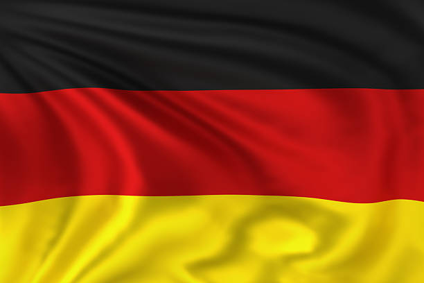 Germany Flag stock photo