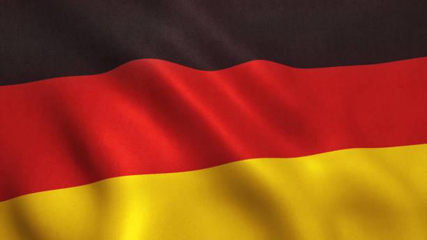 deutschland-flagge  - stoffe berlin stock-fotos und bilder