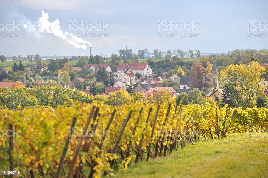 Germany in fall stock photo