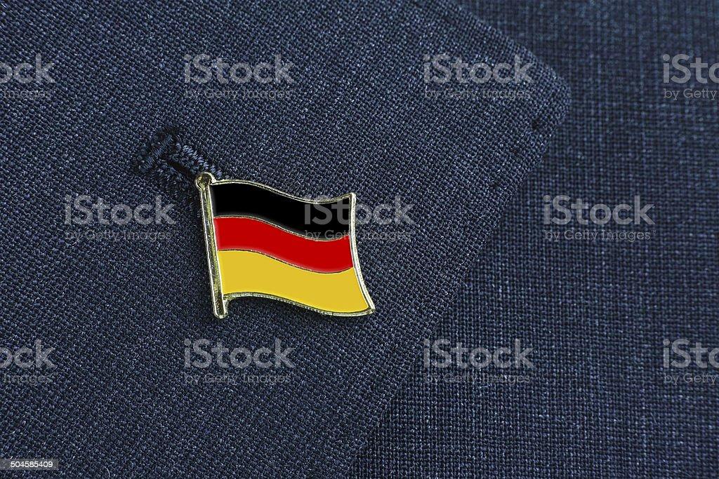 Germany national flag stock photo