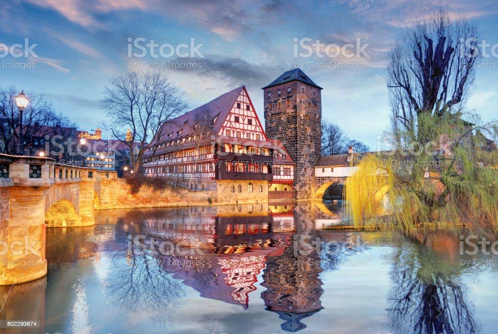Germany - Nuremberg city stock photo