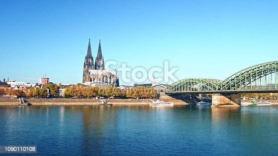 The Cathedral is still the second highest building in Cologne after the telecommunications tower. Its footprint is no less impressive, with the full length of the Cathedral measuring 145 m and the cross nave 86 m. In comparison, a football pitch is