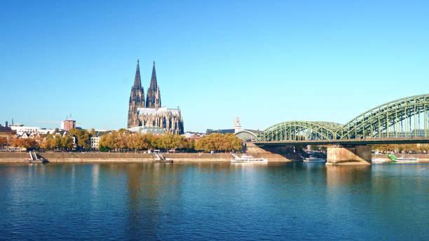 THE COLOGNE CATHEDRAL-Deutschland einer der weltberühmten Domes – Foto