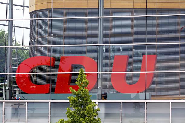 cdu deutschland - la union stock-fotos und bilder