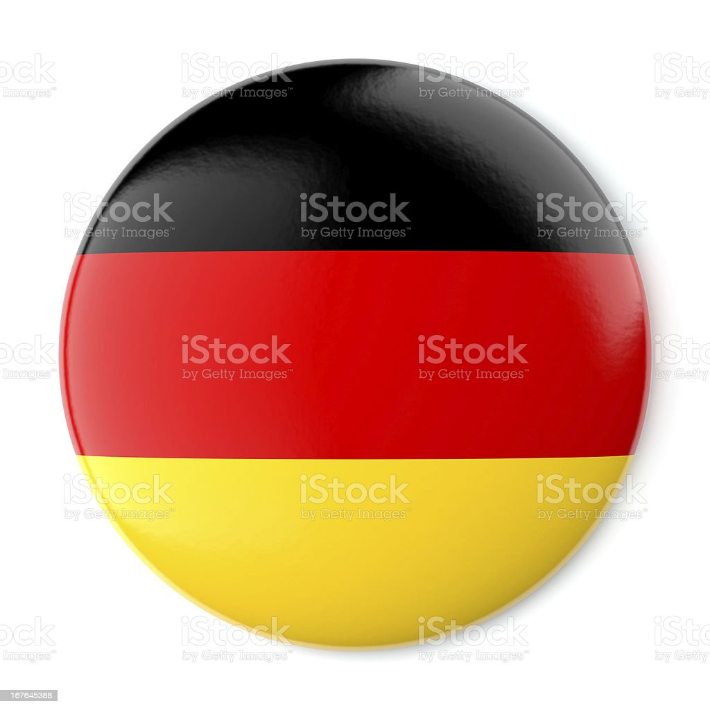 Germany Pin-back stock photo
