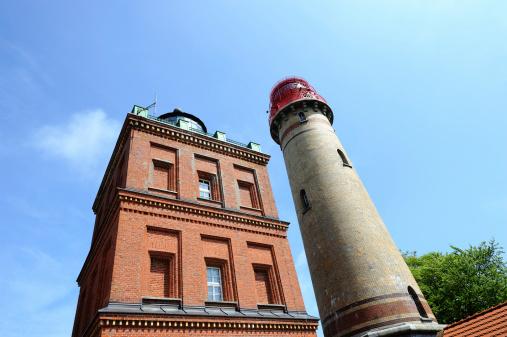 Germany Rügen Cape Arkona Lighthouse Summer  Bottom View