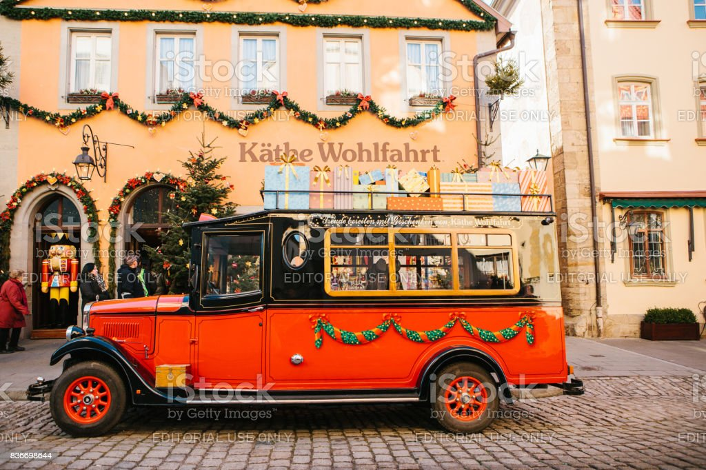 cb7e4b30aa30d9 Germany Rothenburg Ob Der Tauber December 30 2017 Decorated In A ...