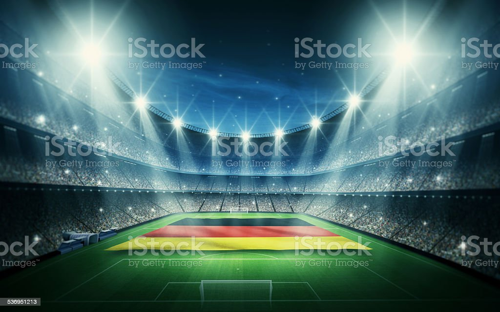 Germany stadium stock photo