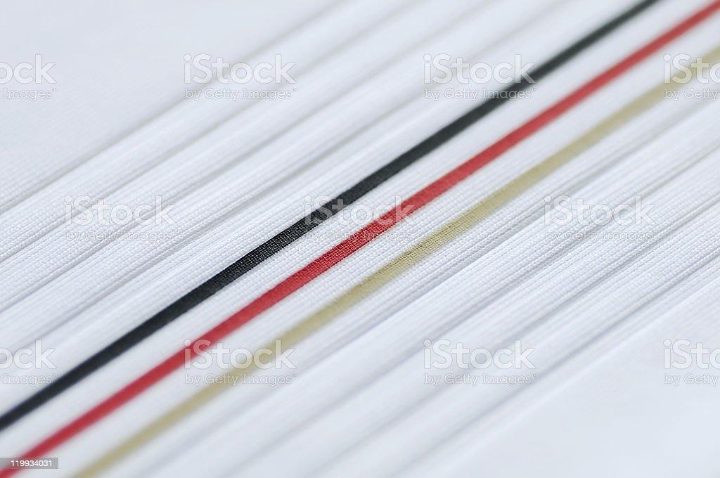 Germany stripes royalty-free stock photo