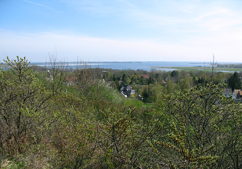 Germany: View over the Baltic Sea island of Hiddensee