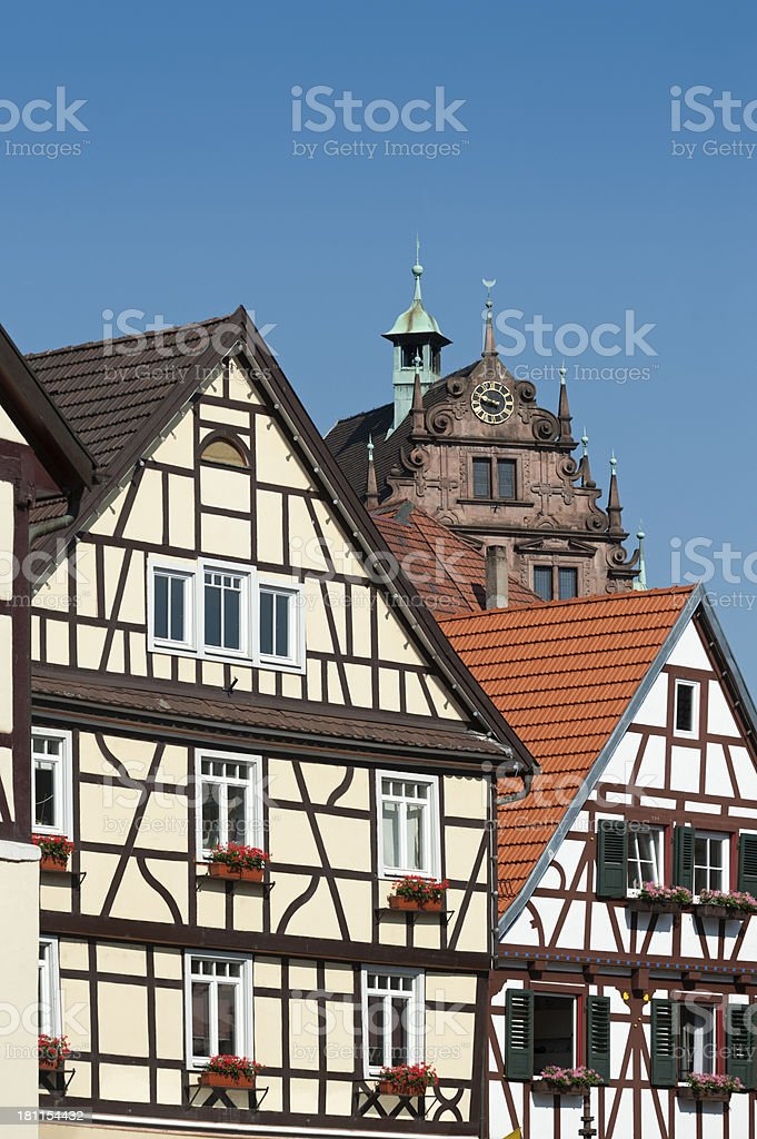 Gernsbach, Black Forest Germany royalty-free stock photo