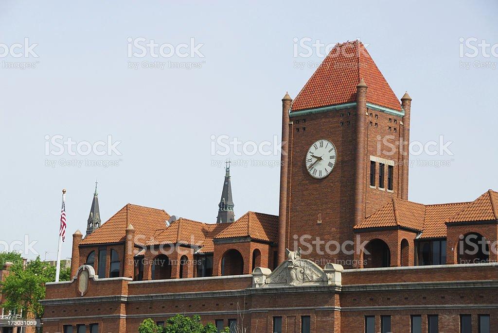 Gerogetown University Clock Tower stock photo