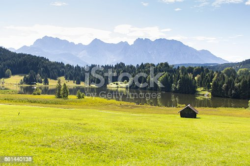 876420064istockphoto Geroldsee Lake with the Karwendel Mountains 861440138