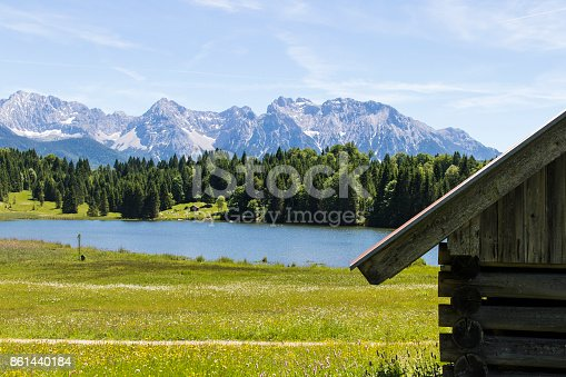 876420064istockphoto Geroldsee Lake with the Karwendel Mountains 861440184