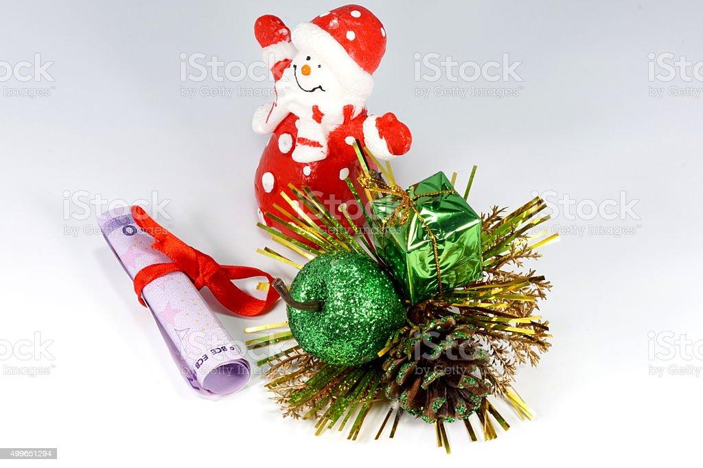 Geschenk Weihnachten stock photo