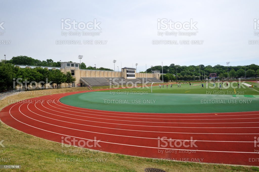 Gesling Stadium in Carnegie Mellon University royalty-free stock photo
