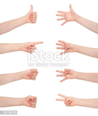 istock gesture communication signs 105756180