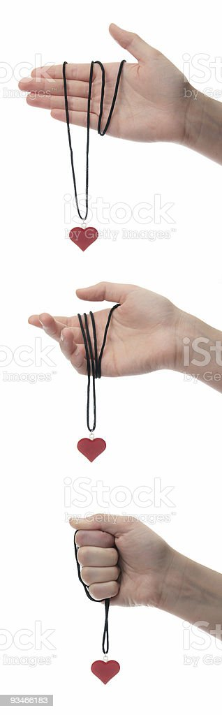 gesture of love royalty-free stock photo