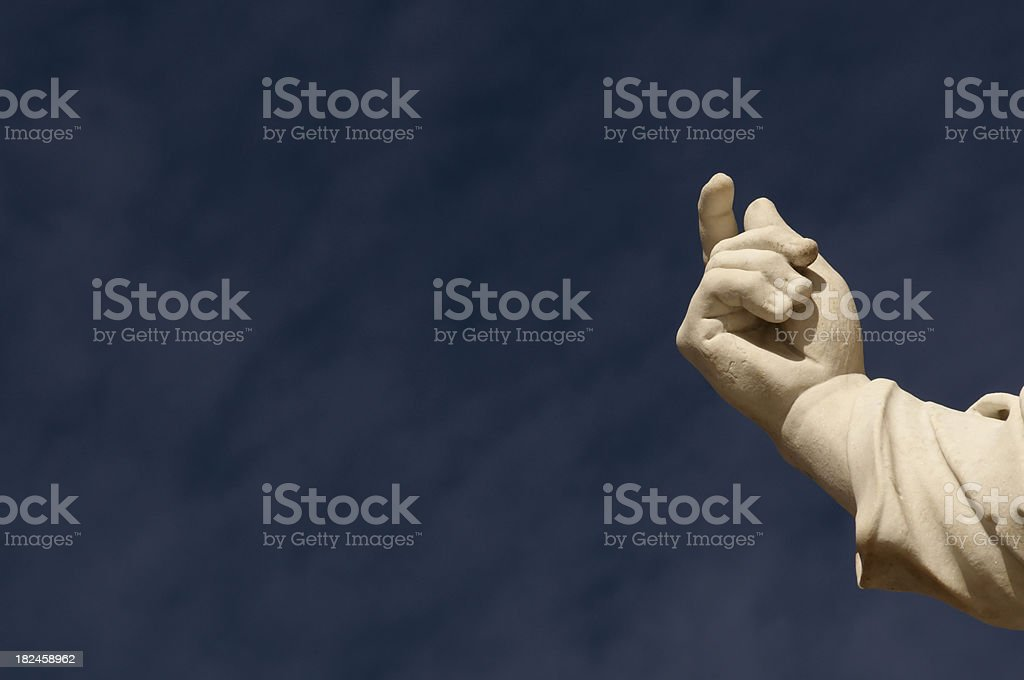 gesture royalty-free stock photo