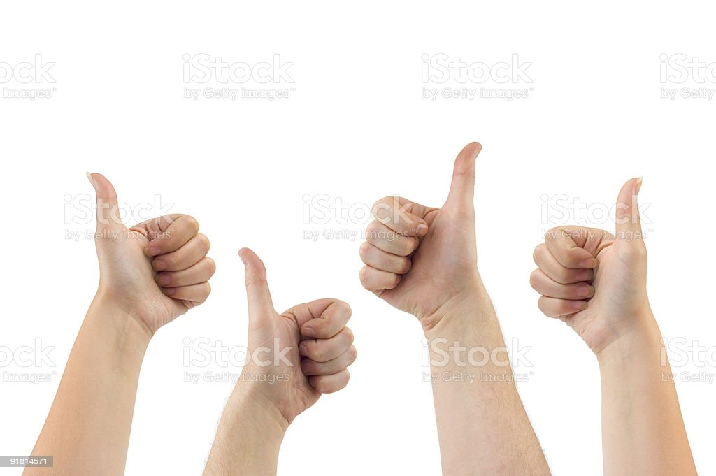 Gesturing hands royalty-free stock photo