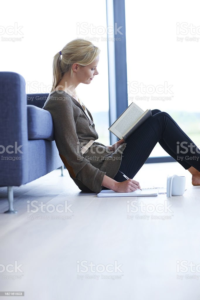 Get a student-loan to reach those goals quicker royalty-free stock photo