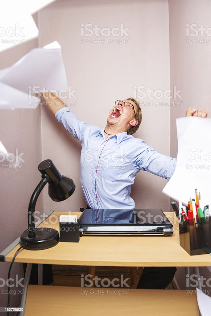 Get another job royalty-free stock photo