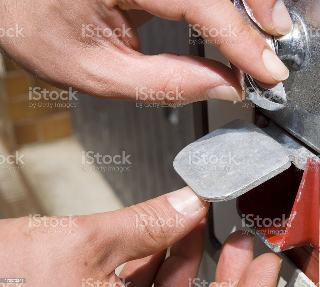 get chewing gums royalty-free stock photo