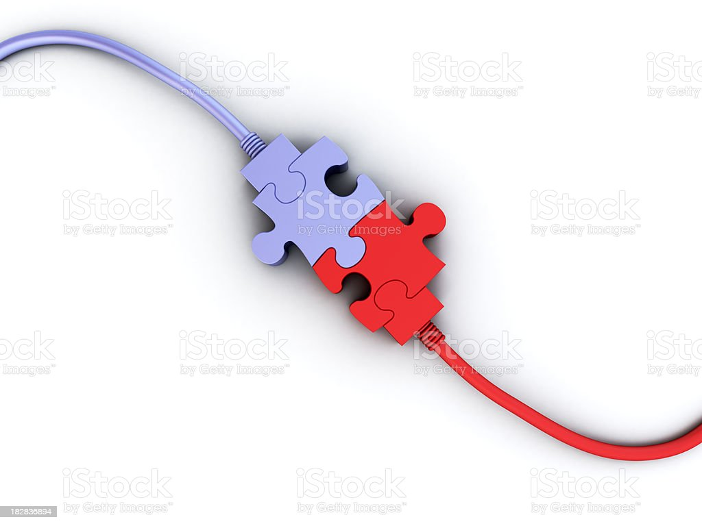 Get Connected royalty-free stock photo