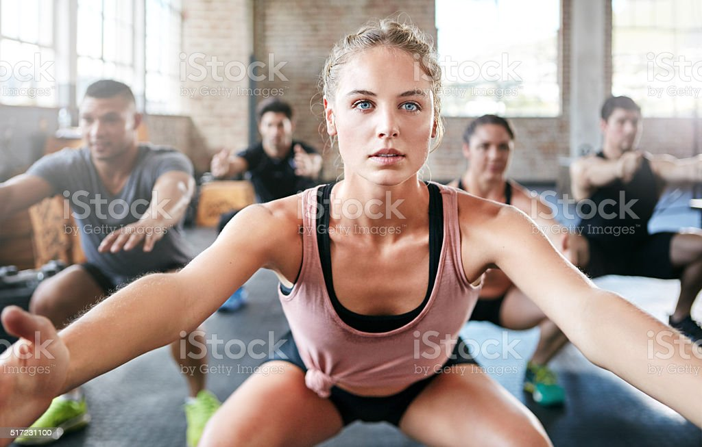 Get fit or go home! stock photo