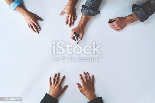 istock Get hands on in planning 1132383588