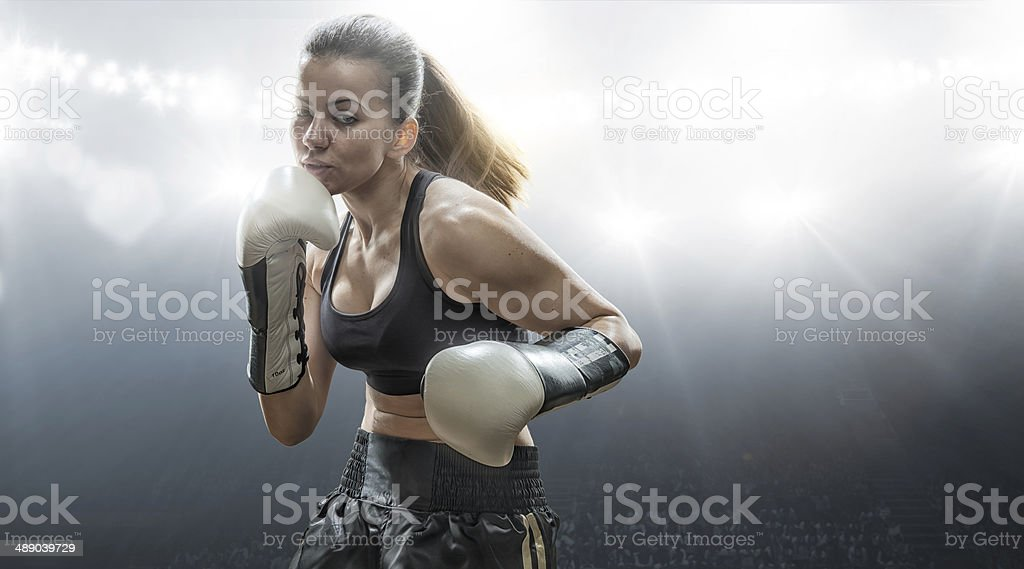 Get In The Ring stock photo
