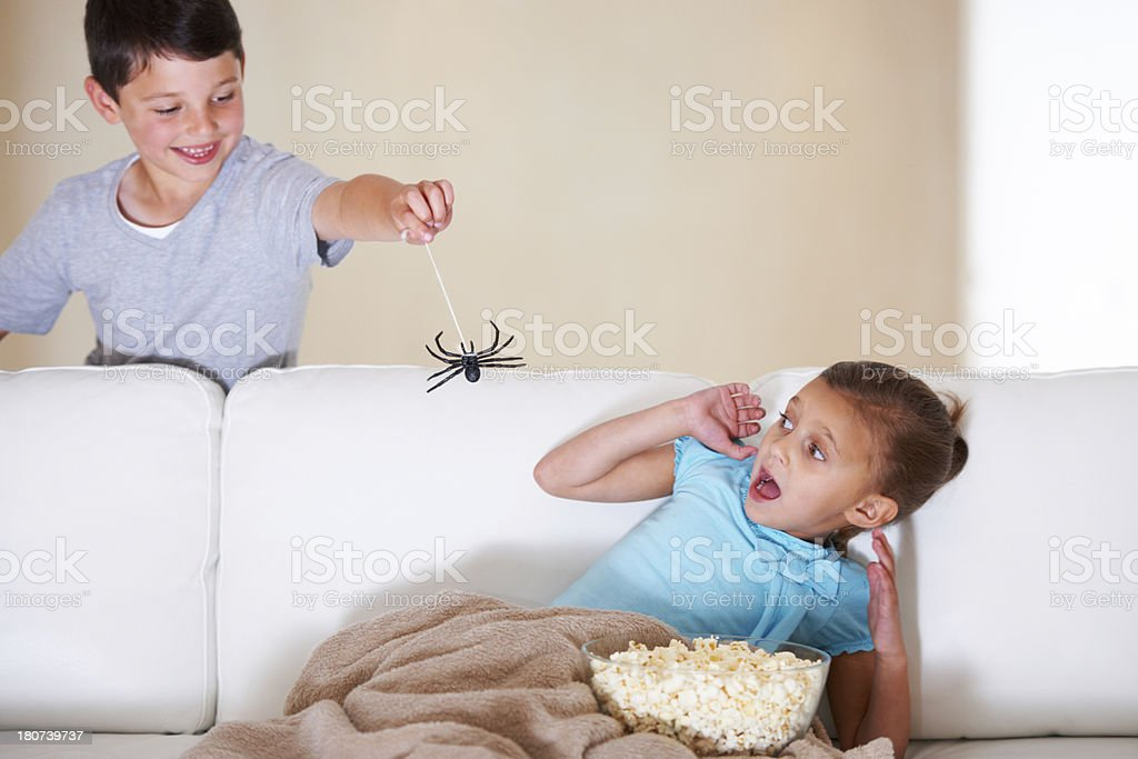 Get it away!!! stock photo
