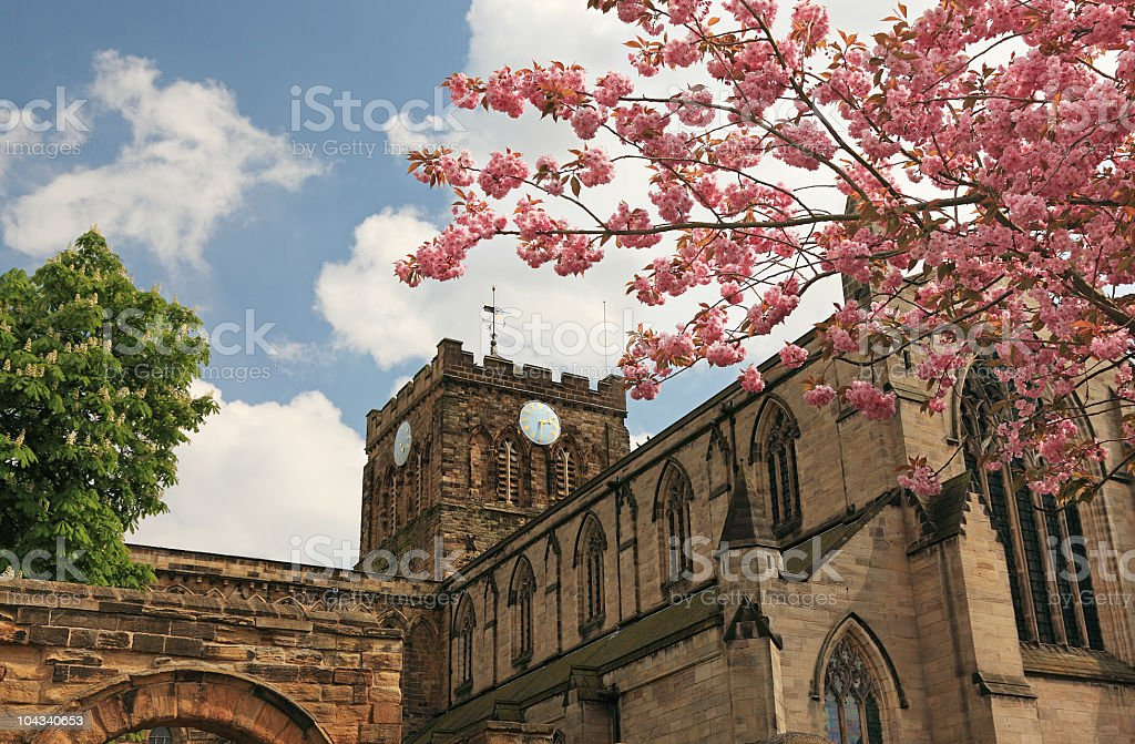 Get me to the church on time royalty-free stock photo