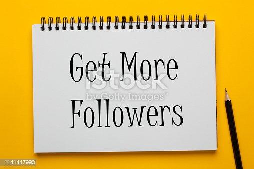 1125093513 istock photo Get More Followers 1141447993