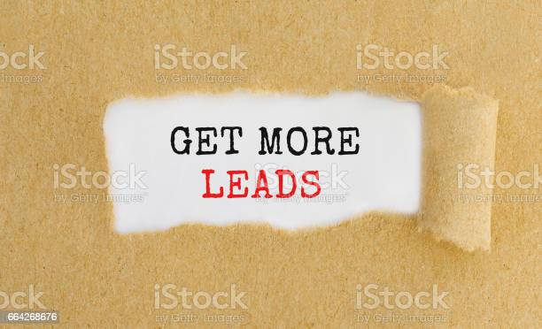 Get more leads appearing behind ripped brown paper picture id664268676?b=1&k=6&m=664268676&s=612x612&h=3wcecsxzhm9 dernmamsn4i7czbvavrtwngn4mo pty=