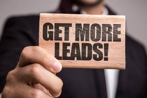 Get More Leads Get More Leads sign sem stock pictures, royalty-free photos & images
