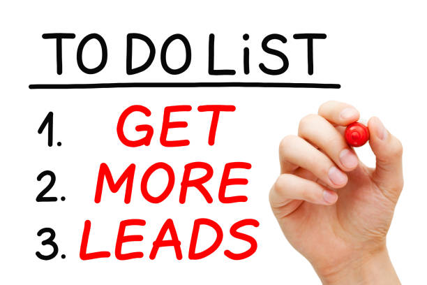 get more leads to do list concept - deaden stock pictures, royalty-free photos & images
