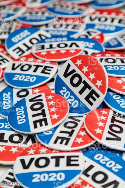 Get out the vote 2020 presidential voting buttons picture id1150832170?b=1&k=6&m=1150832170&s=612x612&h=zz8bg9hphscu0q8ozsebaiphk3esx1wohsz35rs75jc=